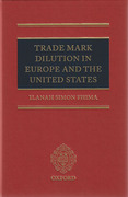 Cover of Trade Mark Dilution in Europe and the United States