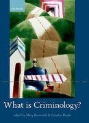 Cover of What is Criminology?