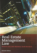 Cover of Real Estate Management Law