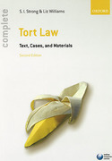 Cover of Complete Tort Law: Text, Cases and Materials