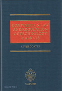 Cover of Competition Law and Regulation of Technology Markets