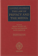 Cover of Tugendhat and Christie: The Law of Privacy and The Media