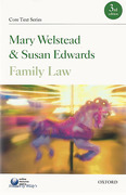Cover of Core Text: Family Law