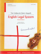 Cover of Concentrate: English Legal System