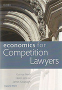 Cover of Economics for Competition Lawyers