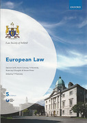 Cover of Law Society of Ireland: European Law