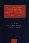 Cover of Intellectual Property and Competition Law: New Frontiers