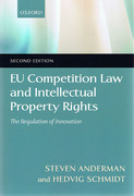 Cover of EU Competition Law and Intellectual Property Rights: The Regulation of Innovation