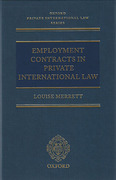 Cover of Employment Contracts In Private International Law