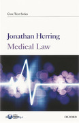 Cover of Core Text: Medical Law