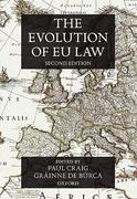Cover of The Evolution of EU Law