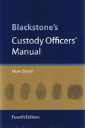 Cover of Blackstone's Custody Officer's Manual