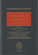Cover of The Law of Privilege