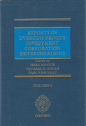 Cover of Reports of Overseas Private Investment Corporation Determinations