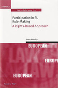 Cover of Participation in European Union Rule Making: A Rights Based Approach