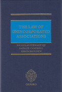 Cover of Law of Unincorporated Associations
