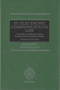 Cover of EU Electronic Communications Law: Competition & Regulation in the European Telecommunications Market