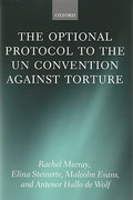 Cover of The Optional Protocol to the UN Convention Against Torture