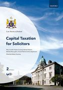 Cover of Law Society of Ireland: Capital Taxation for Solicitors