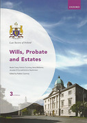 Cover of Law Society of Ireland: Wills, Probate & Estates