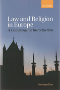 Cover of Law and Religion in Europe: A Comparative Introduction