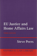 Cover of EU Justice and Home Affairs Law