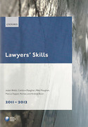 Cover of LPC: Lawyers' Skills 2011 - 2012