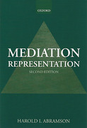 Cover of Mediation Representation