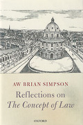 Cover of Reflections on 'The Concept of Law'
