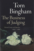 Cover of The Business of Judging: Selected Essays and Speeches 1985 -1989