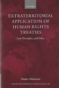 Cover of Extraterritorial Application of Human Rights Treaties: Law, Principles, and Policy