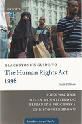 Cover of Blackstone's Guide to the Human Rights Act 1998