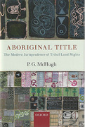 Cover of Aboriginal Title: The Modern Jurisprudence of Tribal Land Rights