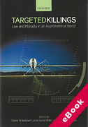 Cover of Targeted Killings: Law and Morality in an Asymmetrical World (eBook)