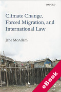 Cover of Climate Change, Forced Migration, and International Law (eBook)