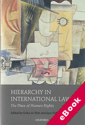 Cover of Hierarchy in International Law: The Place of Human Rights (eBook)