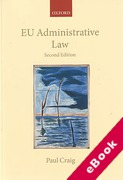 Cover of EU Administrative Law (eBook)