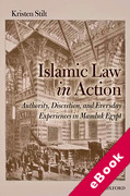 Cover of Islamic Law in Action: Authority, Discretion, and Everyday Experiences in Mamluk Egypt (eBook)
