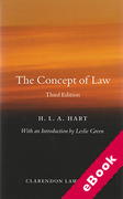 Cover of The Concept of Law (eBook)