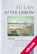 Cover of EU Law after Lisbon (eBook)