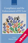 Cover of Compliance and the Enforcement of EU Law (eBook)