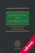 Cover of Global Sales and Contract Law (eBook)