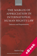Cover of The Margin of Appreciation in International Human Rights Law: Deference and Proportionality (eBook)