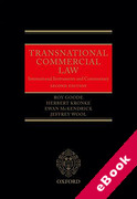 Cover of Transnational Commercial Law: International Instruments and Commentary (eBook)
