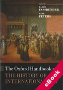 Cover of The Oxford Handbook of the History of International Law (eBook)