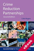 Cover of Crime Reduction Partnerships: A Practical Guide for Police Officers (eBook)