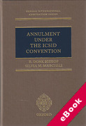 Cover of Annulment under the ICSID Convention (eBook)