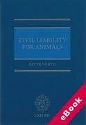 Cover of Civil Liability for Animals (eBook)
