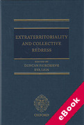 Cover of Extraterritoriality and Collective Redress (eBook)
