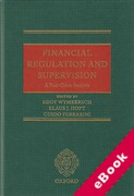 Cover of Financial Regulation and Supervision: A Post-crisis Analysis (eBook)